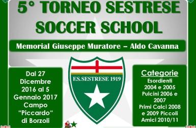 5° TORNEO SESTRESE SOCCER SCHOOL MEMORIAL MURATORE E CAVANNA