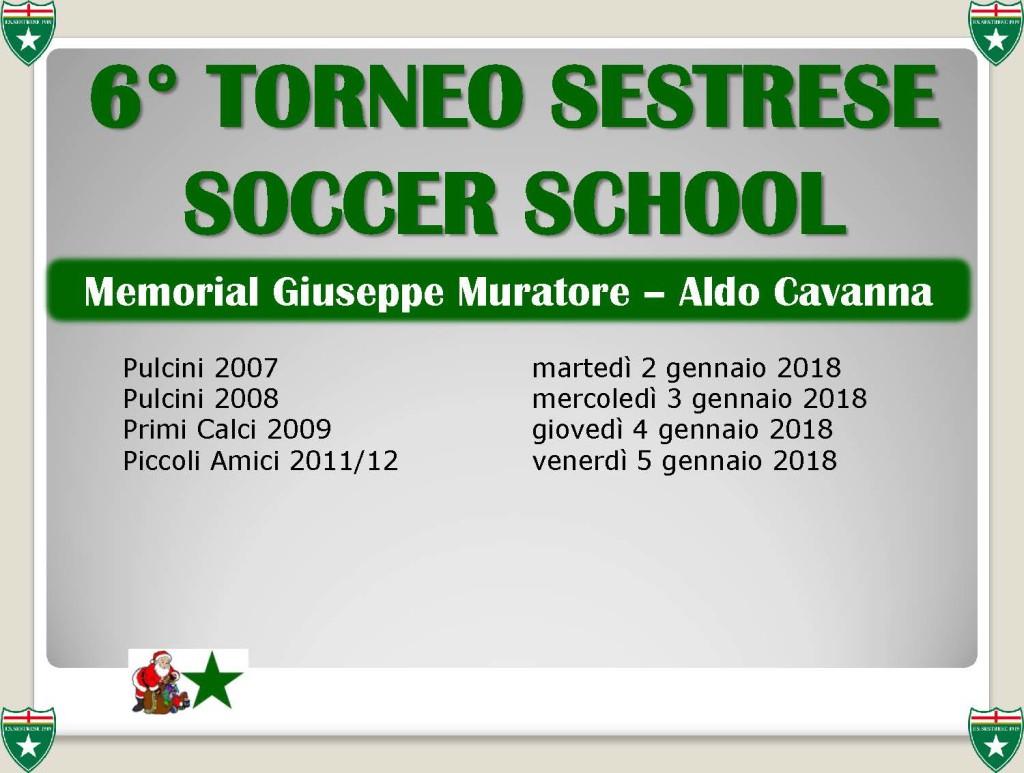 6° TORNEO SESTRESE SOCCER SCHOOL MEMORIAL MURATORE E CAVANNA brochure_Pagina_2